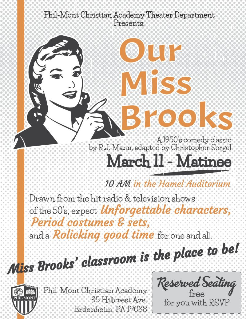 our miss brooks matinee